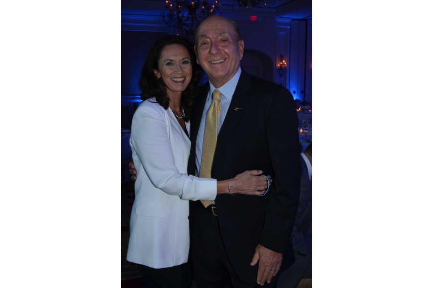 Mary Kenealy-Barbetta and Dick Vitale