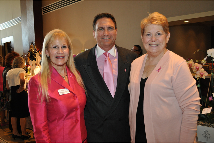 Co-Chairwoman Sherril Morse, Troy Larkin and  Co-Chairwoman Ginny Cable
