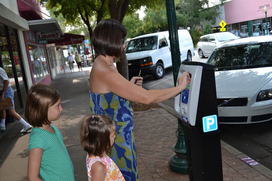 Parking meters will be back online effective Oct 1.