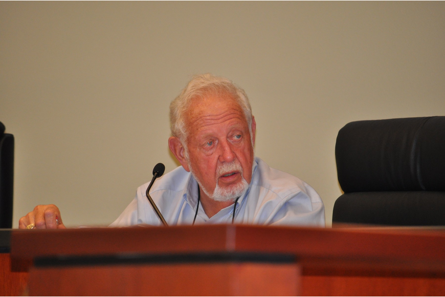 Mayor George Spoll will reach his term limit after three consecutive two-year terms in the District 2 commission seat.