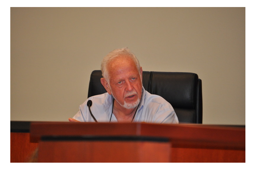 Mayor George Spoll chaired his second to last official commission meeting Monday night.