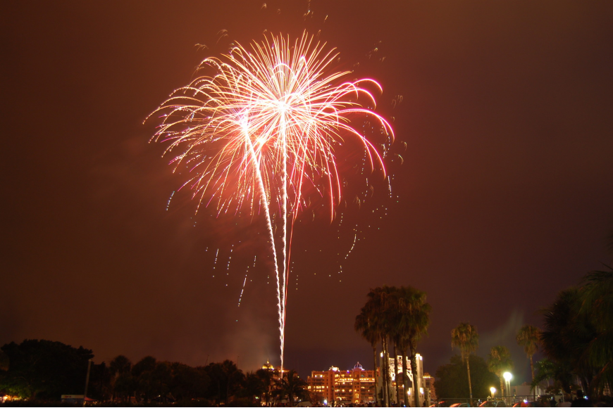 VIP tickets are now on sale to view the 2011 Fourth of July fireworks show.