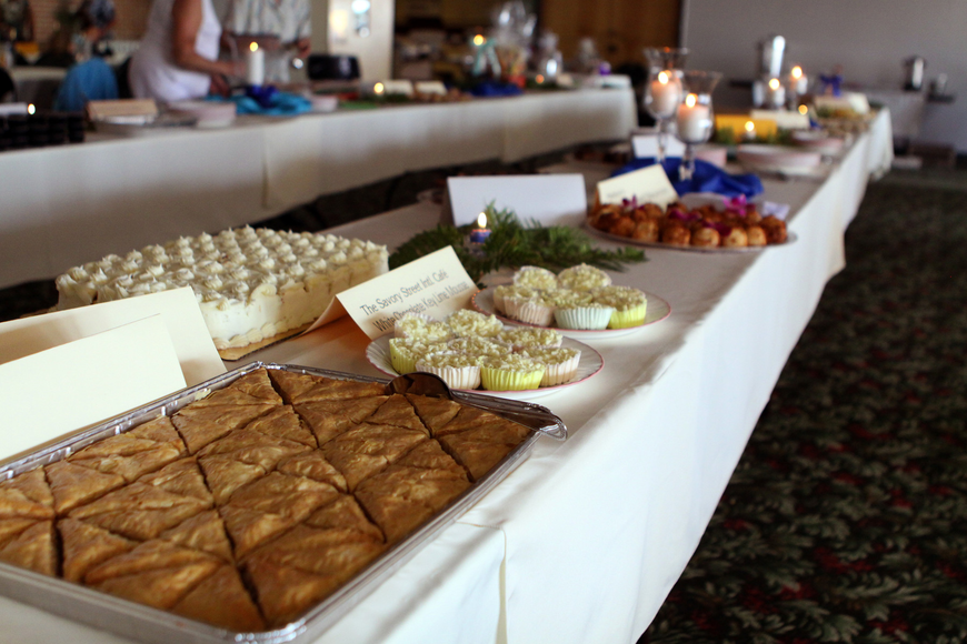 There were 37 desserts and 29 donors for Family Promises' Third Annual Just Desserts event Friday, May 20 at Selby Garden's Great Room by the Bay.