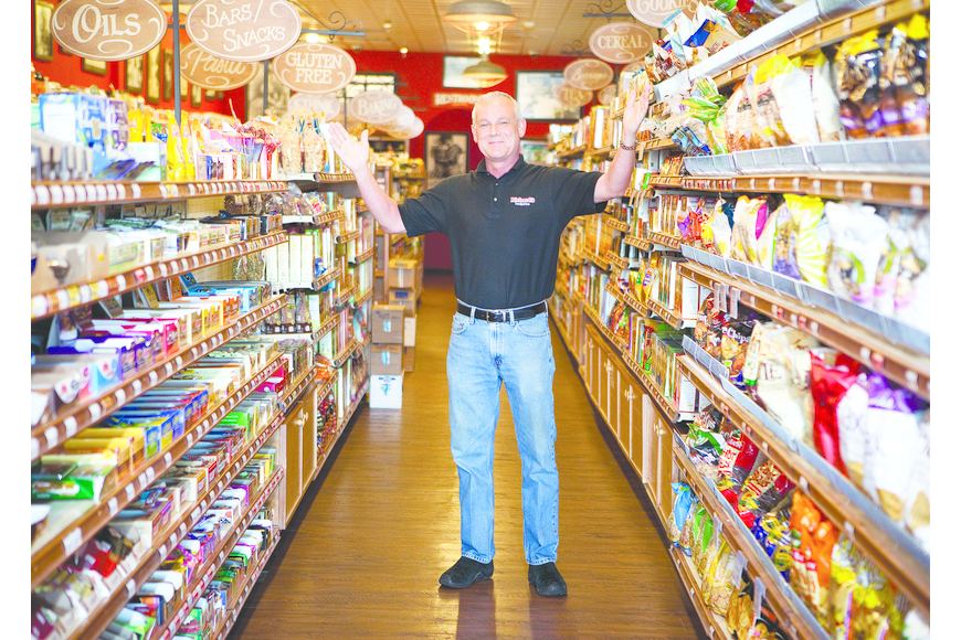 John Rorer is the head proprietor of Richard's Foodporium. The Sarasota-based company of natural foods and specialty goods runs 13 corporate and three franchise locations in Florida, from Port Charlotte to Flagler County.