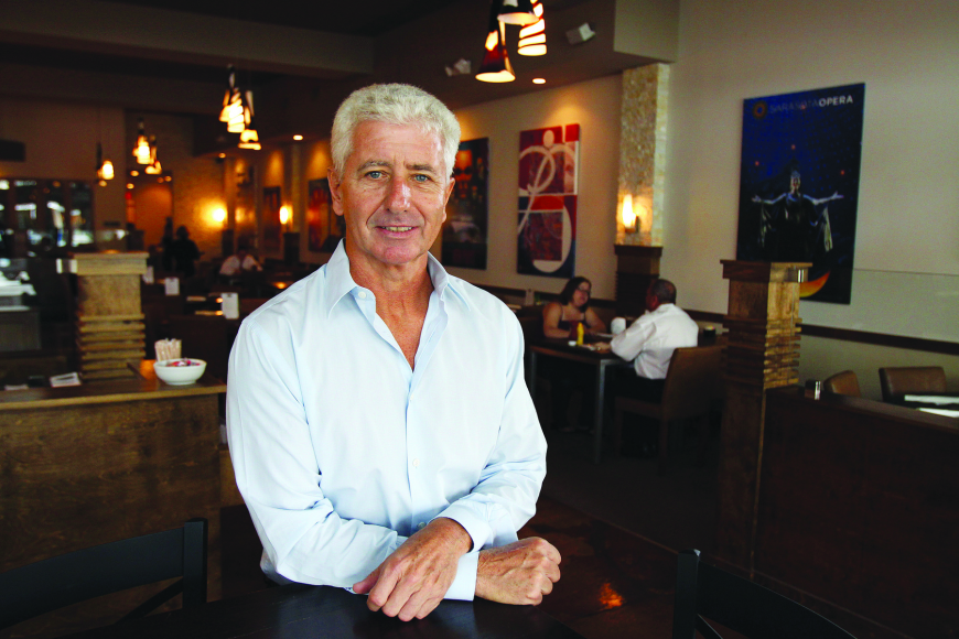 Patrick's Restaurant and Tavern owner Jim Sullivan believes his former landlord is mimicking his restaurant.