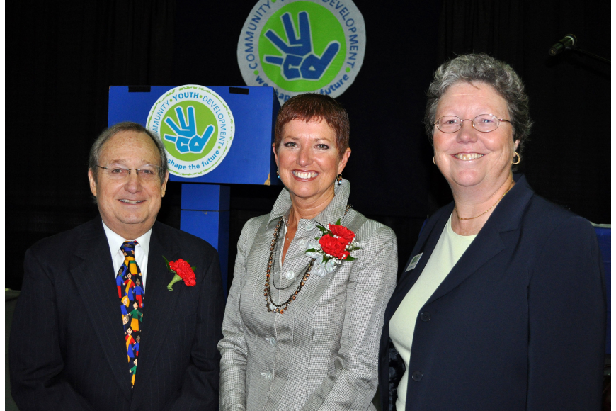 Judge Lee Haworth, Gwen MacKenzie and Karen Bogus were all honored at the sixth annual Leadership Breakfast Thursday, Sept. 15, at the Lee Wetherington Boys & Girls Club.