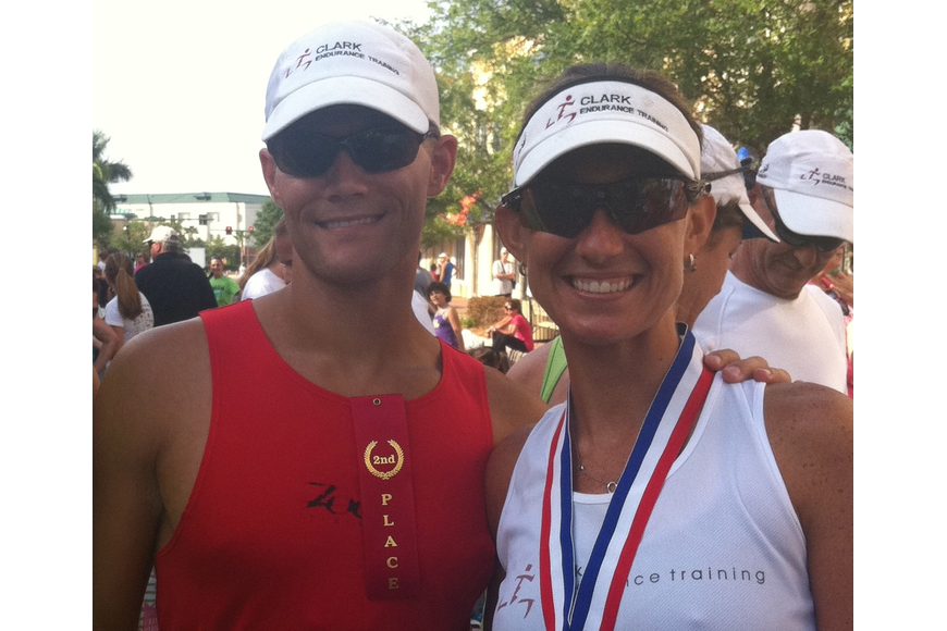 Nick and Nicole Clark own Fitness Together in Lakewood Ranch.