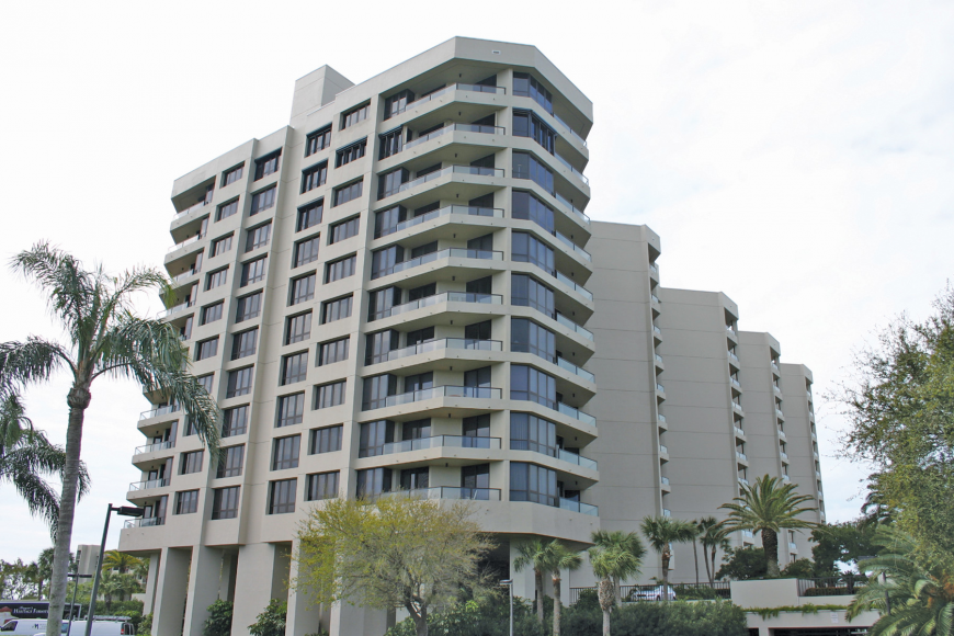 Unit 803 at the Promenade, 1211 Gulf of Mexico Drive, has two bedrooms, two baths and 1,585 square feet of living area. It sold for $638,300. File photo.