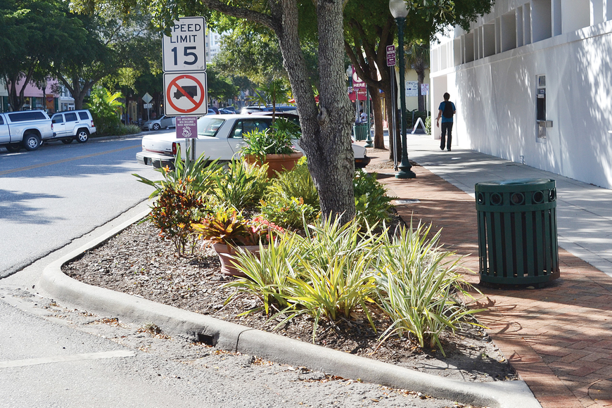 The Downtown Improvement District is weighing the pros and cons of having an enhanced level of maintenance service along Main Street. File photo.