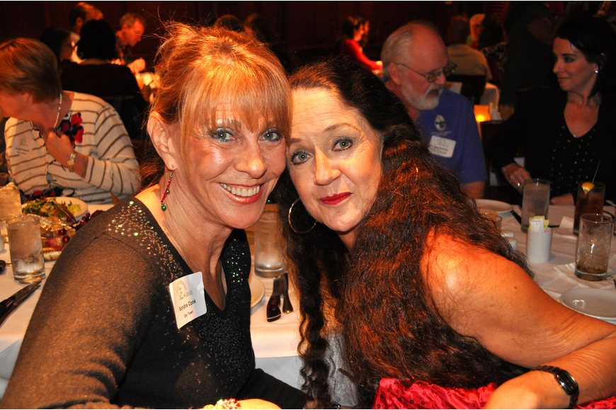Sondra Conk and Suzanne Stacy