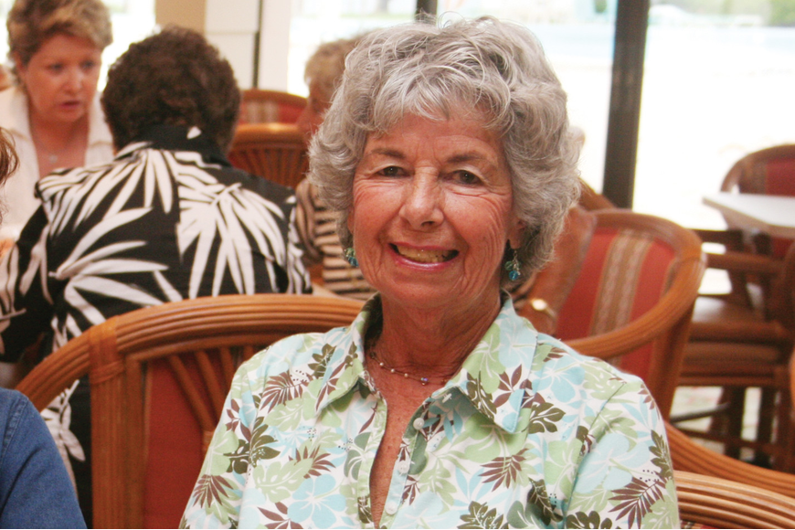 Hazel Lenobel was an avid volunteer and was devoted to her family and friends. File photo.