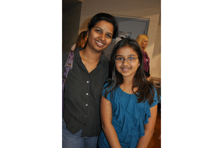 Reena Garima attended the open house with her daughter, Rathor.
