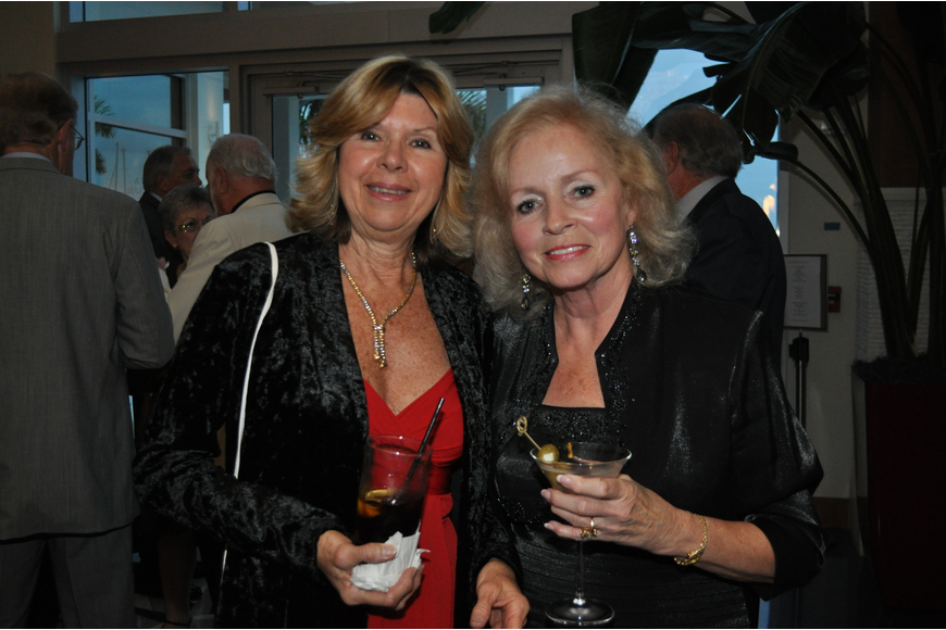 Elaine Fuorry and Fran Merritt