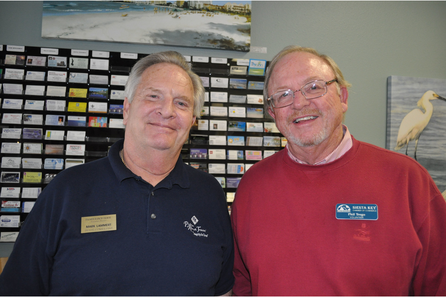 Mark Lammert of Palmer Ranch Travel with Phil Trego