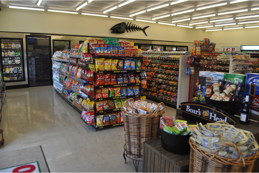 The convenience store will offer an enhanced grocery selection when Publix closes in April.