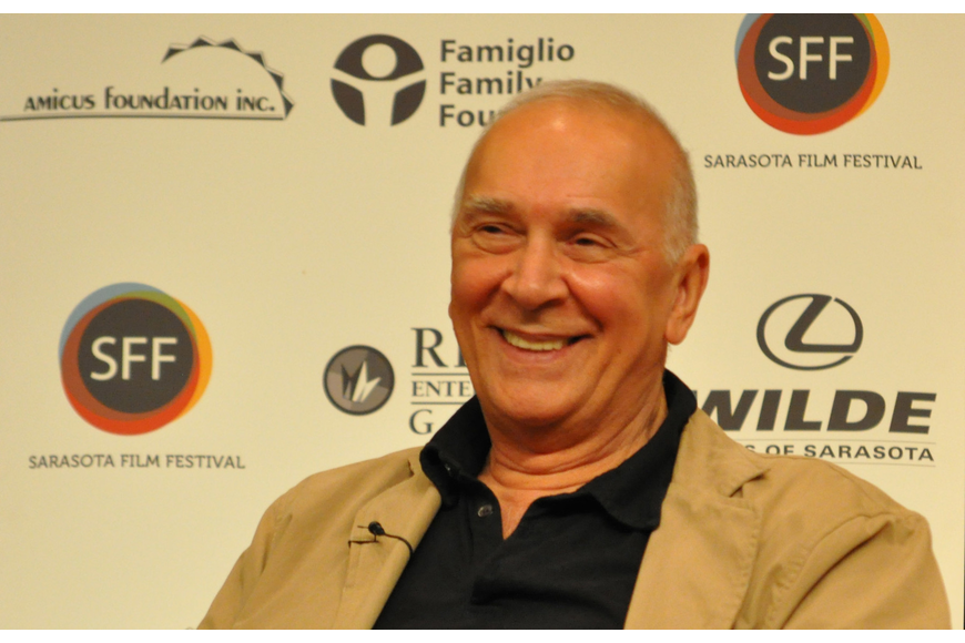 "Actor Frank Langella spoke about the film, ""Robot and Frank,"" Saturday night."