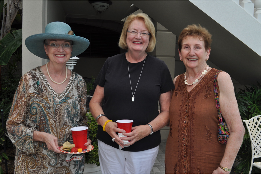 Kathleen Scholl, Marlynn Schwenk and Dorothy Cole
