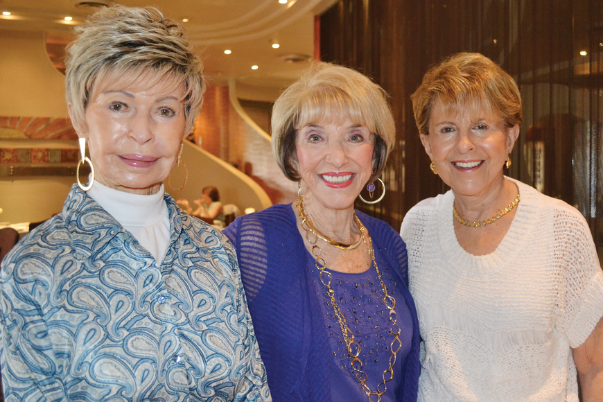 Joy Server, Doris Kaplan and Renee Sheade. Molly Schechter.