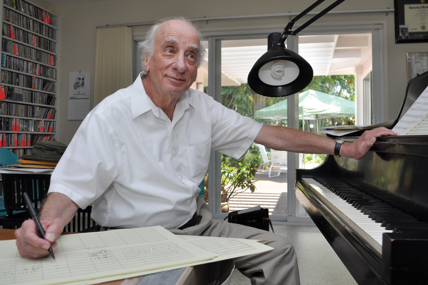 """I practiced (when I first started playing) as I do now — every day,"" Dick Hyman says of his 60-plus year career."
