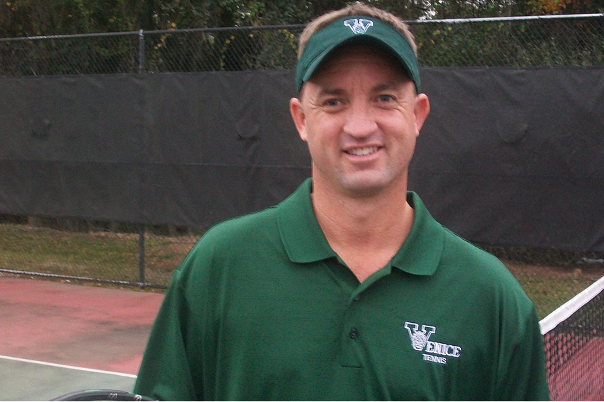 Jason Golden, who coaches the ODA middle school football team and the Venice girls tennis team, assumed his newest role — Area Director for Coaches of Excellence. Courtesy photo.