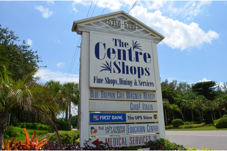 The new studio is located at 5360 Gulf of Mexico Drive in the Centre Shops.
