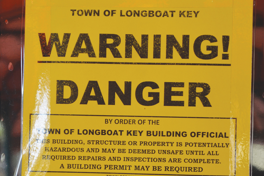 Longboat Key Building Official Wayne Thorne sent a letter to affected Colony Beach & Tennis Resort officials Sept. 12, informing them that ProNet Group Inc., a firm hired by Citizens Property Insurance to inspect the building, discovered major concerns.