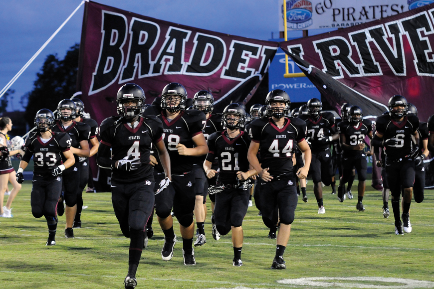 The Braden River High football team fell to Port Charlotte 29-14 in its homecoming game Sept. 28.