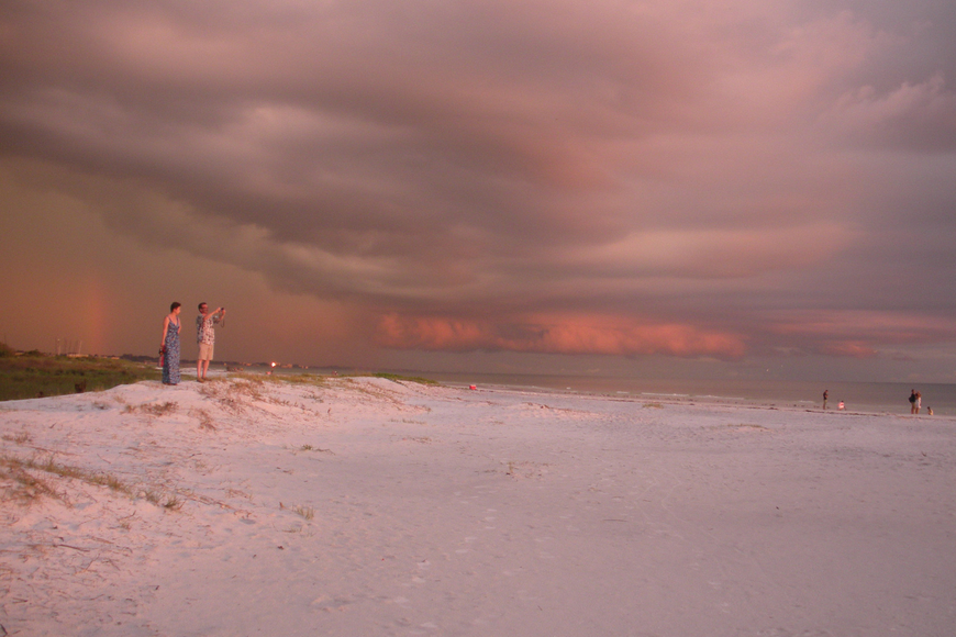 Pat and MaryLynn Clisham submitted this photo of Siesta Key Beach.