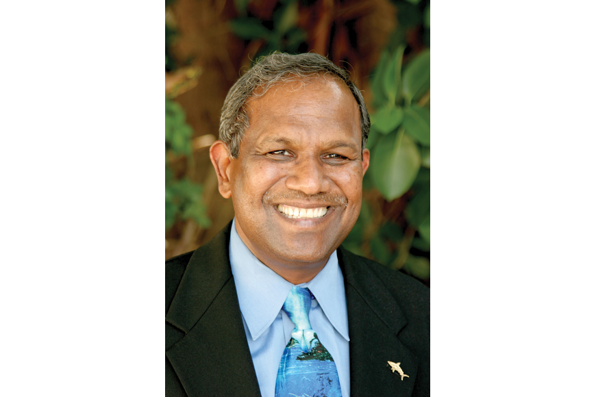Dr. Kumar Mahadevan has been at Mote Marine Laboratory for more than 34 years and is the organization's president and CEO.