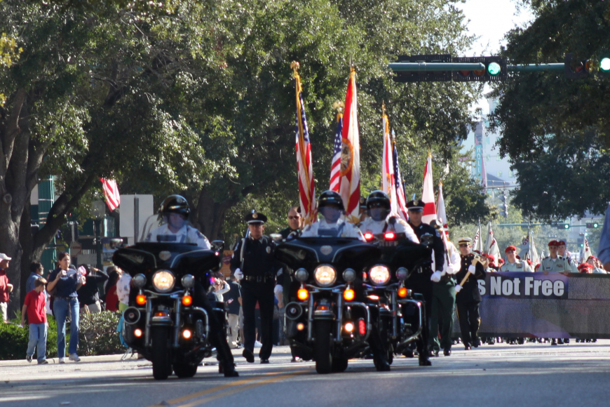 "The theme for this year's 2012 Veterans' Day ceremony is ""For Those Who Serve."" Courtesy photo."