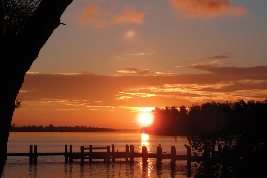 Melanie Barber submitted this sunrise photo, taken on Bradenton Beach overlooking Jewfish Key.