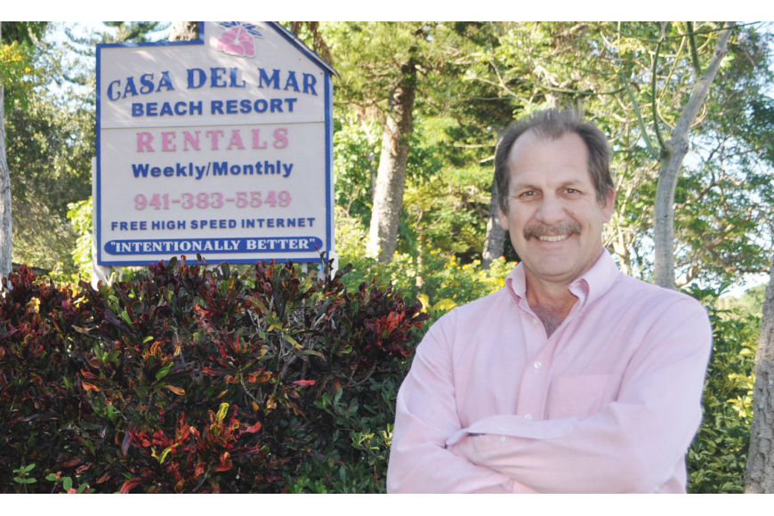 Mark Meador began his career with Casa del Mar at age 23, shortly after Hurricane Elena struck in 1985.