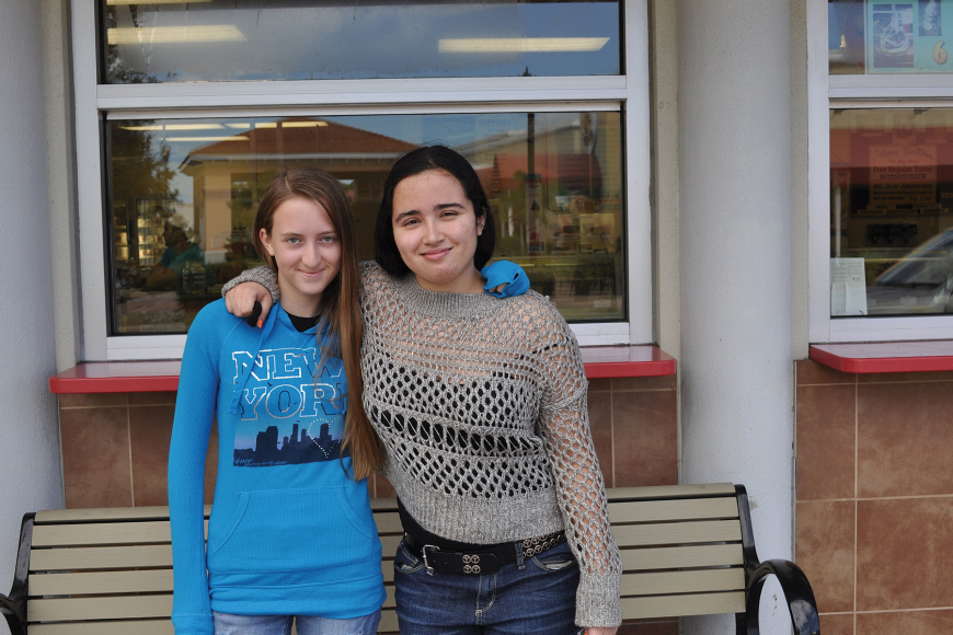 Christina Meiser and Aliana Diaz both experienced bullying firsthand. Now, the girls are fighting it with a Facebook page that offers support for bullying victims.