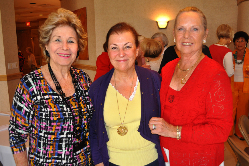 Guardians ad litem Carol Seigler, Rosalyn Fleischer and Betty Ewing