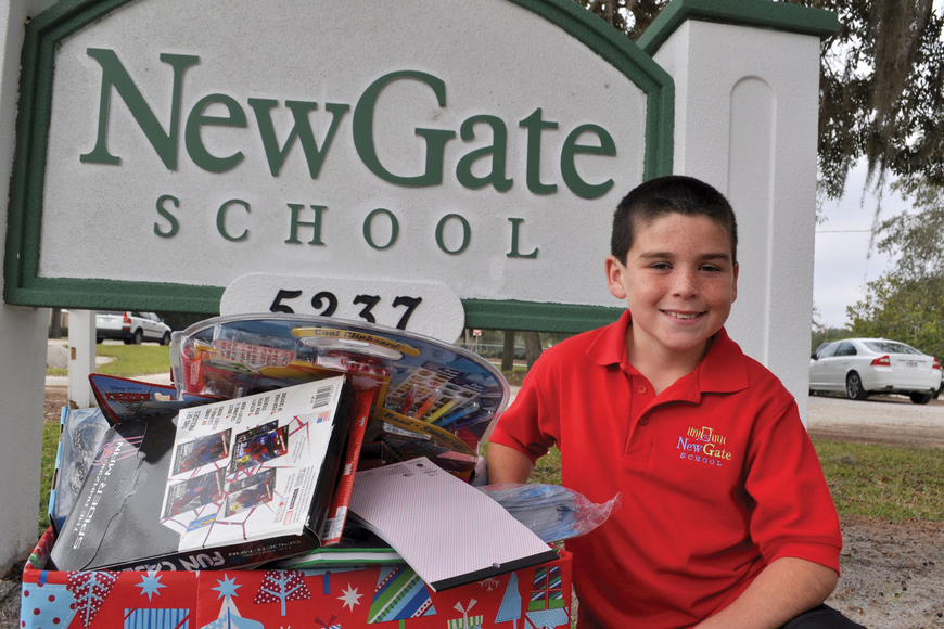 Anyone interested in donating to Aidan Pearson's toy drive can bring an unwrapped gift to the NewGate office, located at 5237Ashton Road.