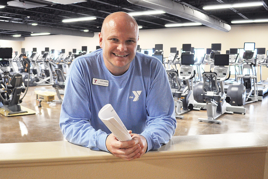 On March 3, members and officials of the YMCA celebrated the opening of the facility's new $2.1 million, 13,000-square-foot addition, which has been under construction since September.