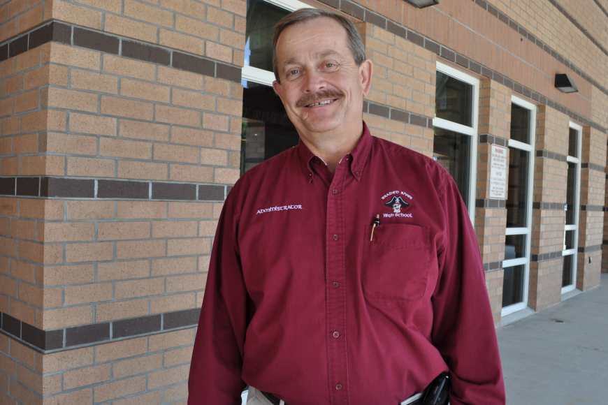 """To open this school (Braden River High), gave me new life,"" Braden River High School Principal Jim Pauley said."