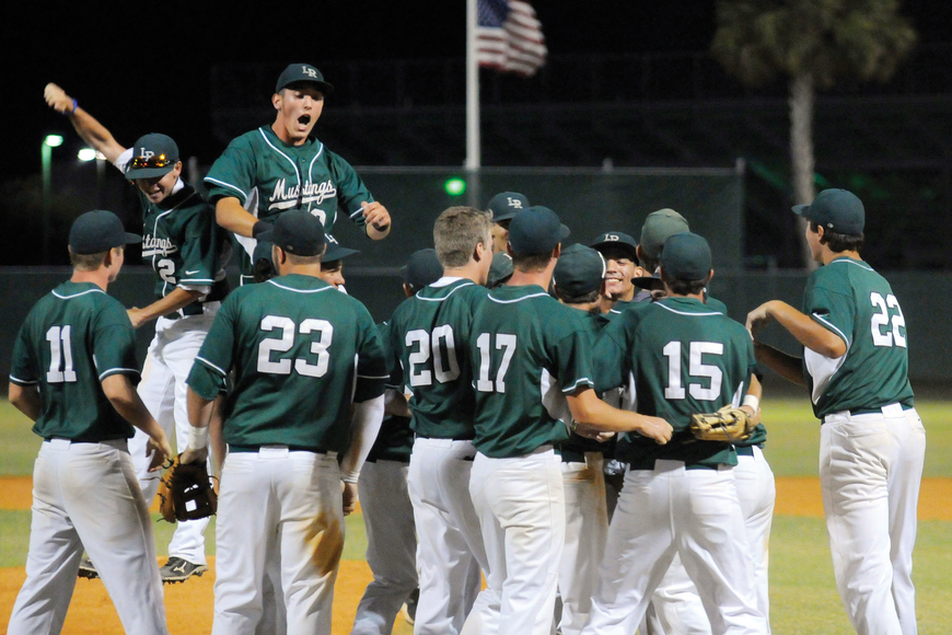 Behind the leadership of 12 seniors, the Lakewood Ranch High baseball team captured its first district title in nine years and advanced to the Class 6A state semifinals May 17.