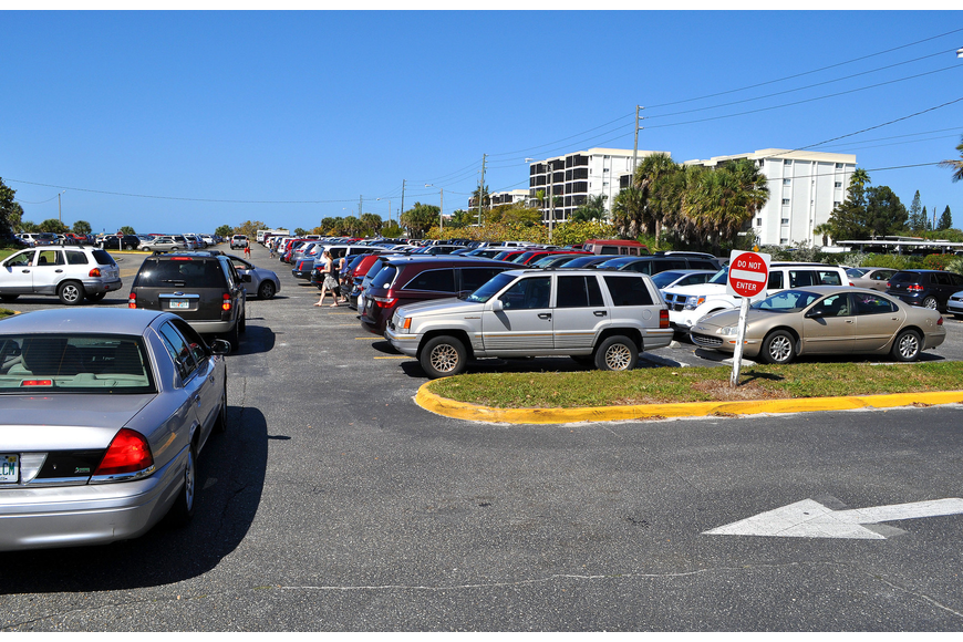 The current design for the Siesta Key public beach enhancements includes 160 additional parking spaces.