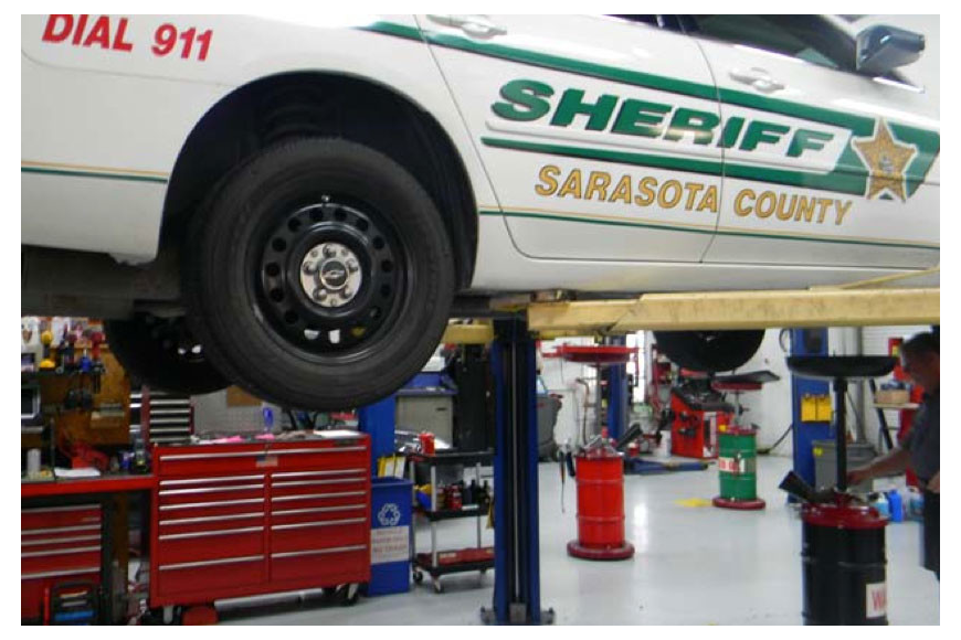 The Sarasota County Sheriff's Office has started planning a new facility that would include fleet maintenance.