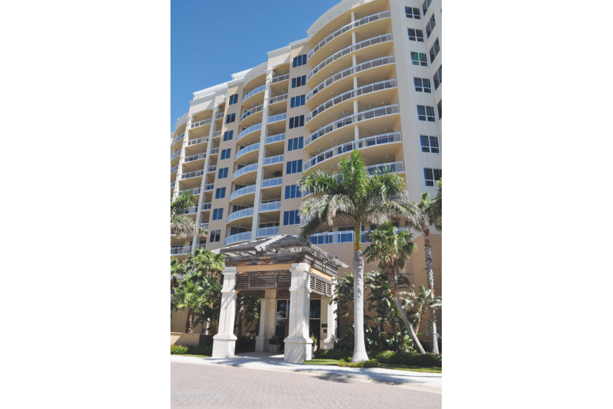 Unit 1002 at The Beach Residences, 1300 Benjamin Franklin Drive, has three bedrooms, three baths and 3,964 square feet of living area. It sold for $2.9 million. File Photo.