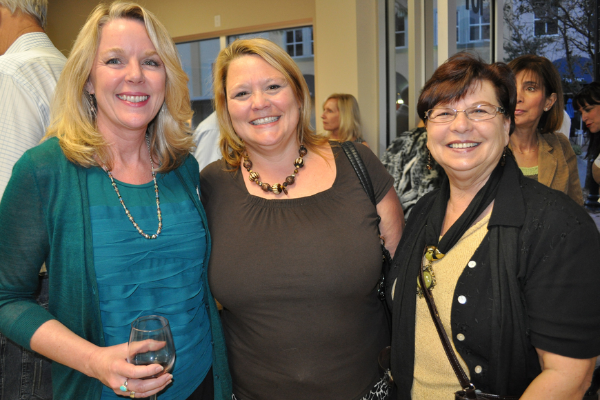 Premier Sotheby's Realtor Debbie Rempert with Debbie Ainswort and Janice Trout