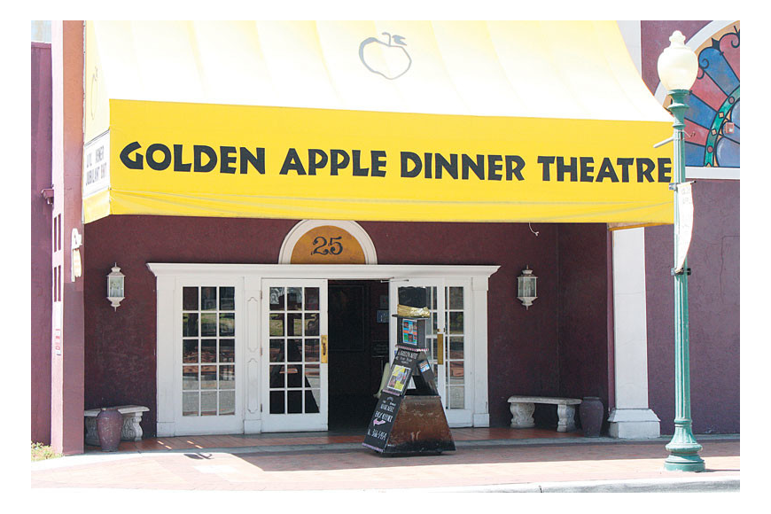 Three new owners opted for a new name and a fresh start for the Golden Apple Celebrity Theatre. File photo.