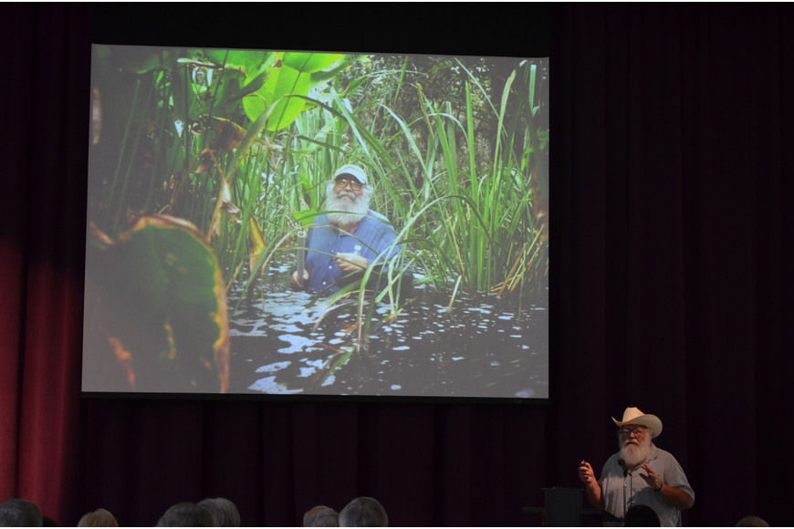 Photographer Clyde Butcher talks about his photography and swamp experiences.