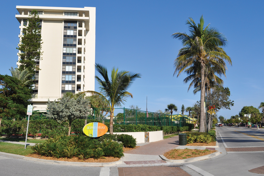 The vicinity of the Terrace East condominium complex to Siesta Key Village has created tension related to sound levels.