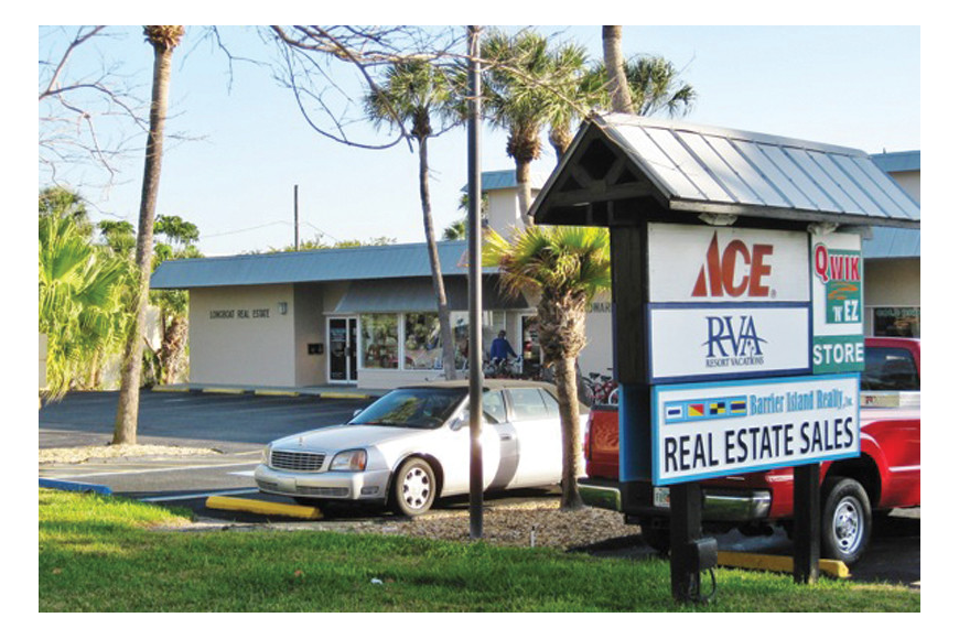 The new Barrier Island Realty office is located at 4030 Gulf of Mexico Drive. Courtesy photo