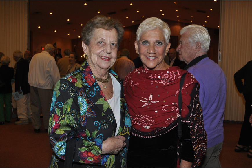 Shirley Fein and Lillian Sands