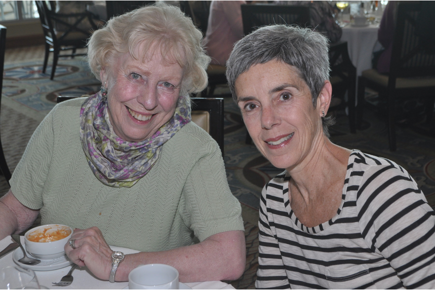 Barbara MacLean and Karen Gelbart