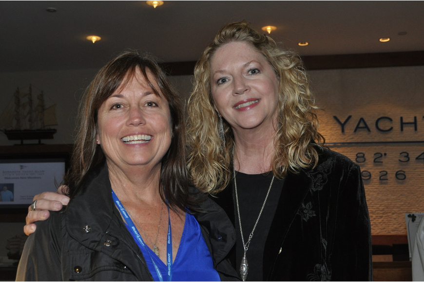 Sandy Anderson and Susan Jarvis