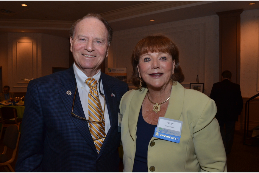 Guardian of Israel Award Luncheon Co –Chairs Len and Helen Glaser